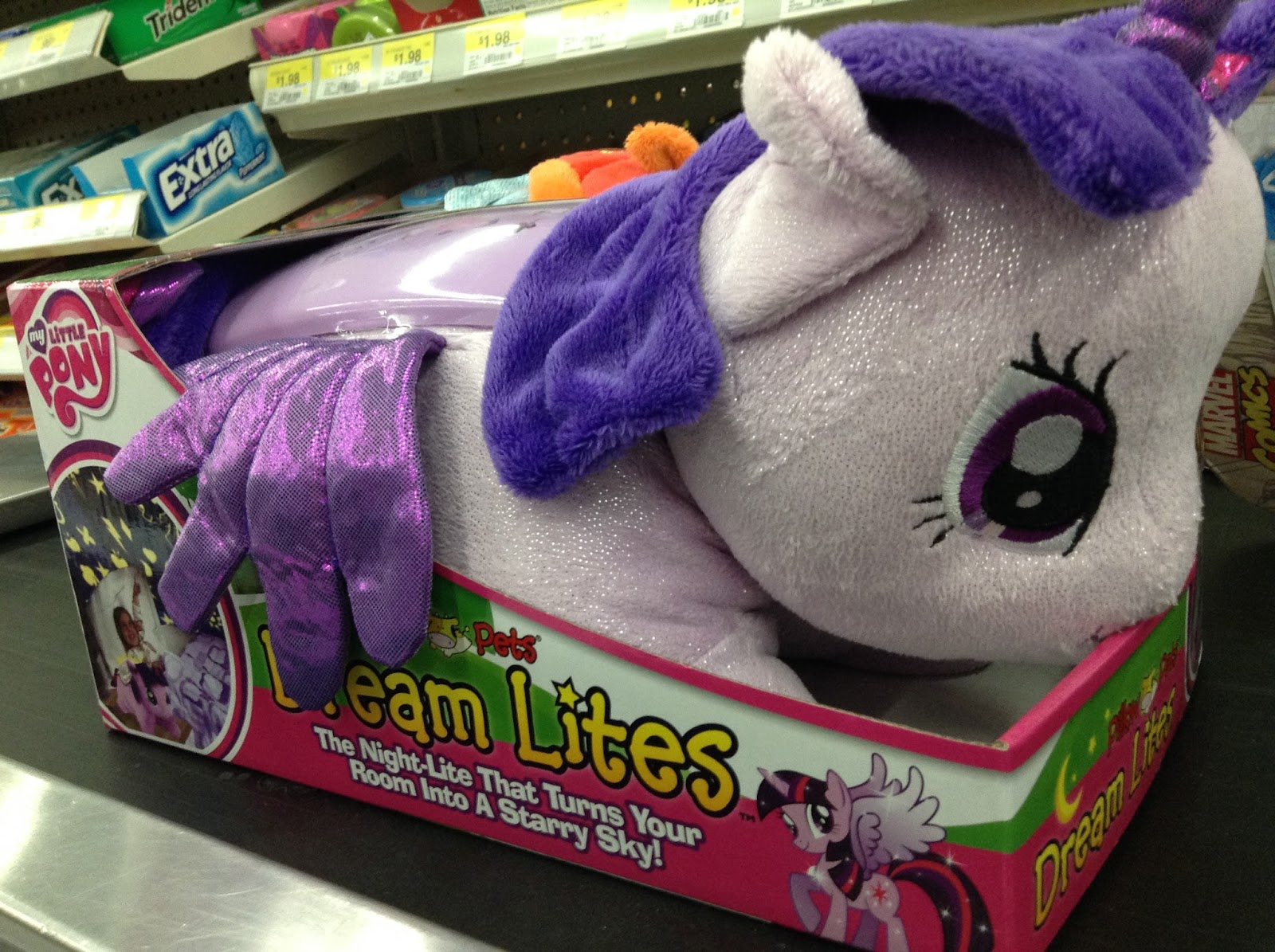 "MLP Pillow Pets ""Dream Lites"" Found at Walmart"