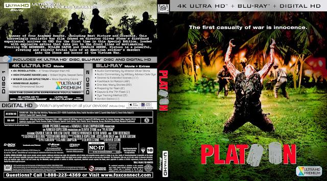 Platoon 4k Bluray