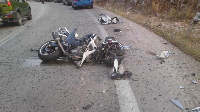 Νεκρός οδηγός δικύκλου σε τροχαίο στην Περιφερειακή
