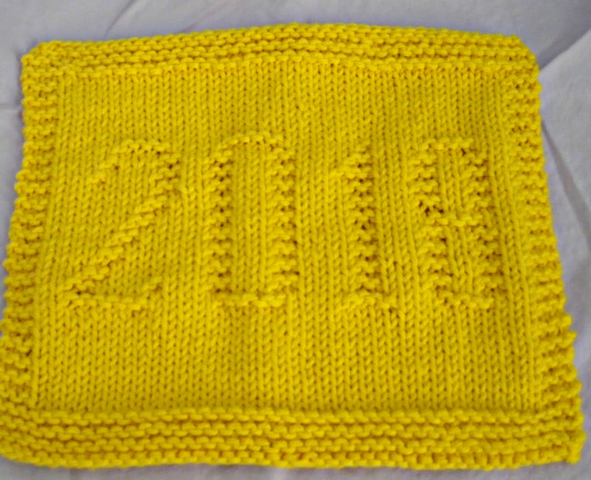 Knitting for Everyone: 2018 Dishcloth Pattern