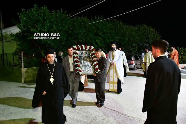 Την Μεγαλομάρτυρα Αγία Βαρβάρα γιορτάζουν στον Ίναχο Αργολίδας