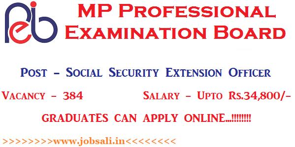 VYAPAM Vacancy 2017, MP Govt jobs, Govt jobs for Graduates