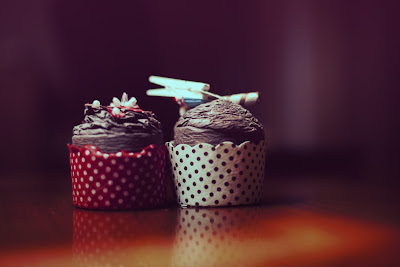 Free stock photos of food and high quality - Chocolate Cupcake royalty free image.