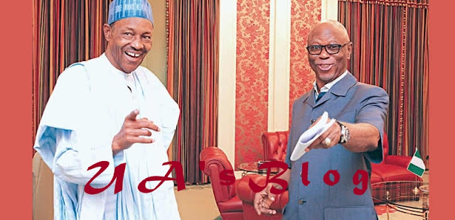 Odigie-Oyegun clocks 79, felicitated by President Buhari