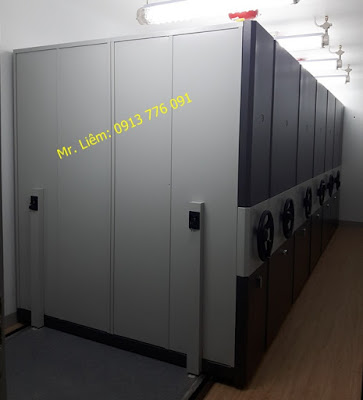 Tủ Conpactor Tay Quay