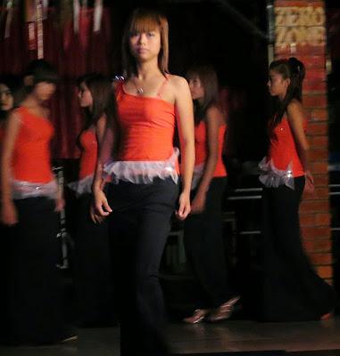 Pretty Burmese Girls working in Yangon