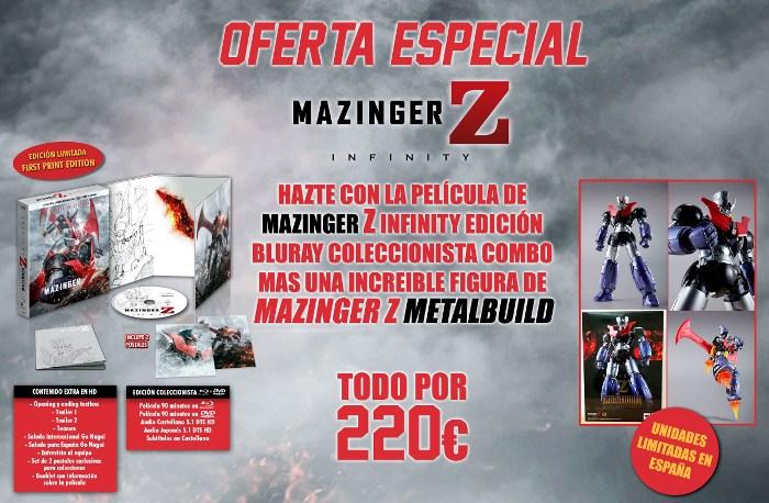 Oferta especial Mazinger Z Infinity BD Selecta Visión