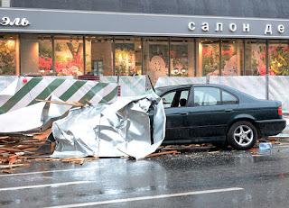 12 νεκροί και 125 τραυματίες από ισχυρή καταιγίδα στη Μόσχα. (ΒΙΝΤΕΟ)