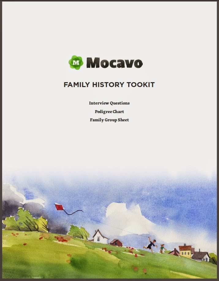http://blog.mocavo.com/wp-content/uploads/2014/05/Mocavo-Family-History-Toolkit-1.pdf
