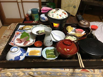 松屋旅館の夕食