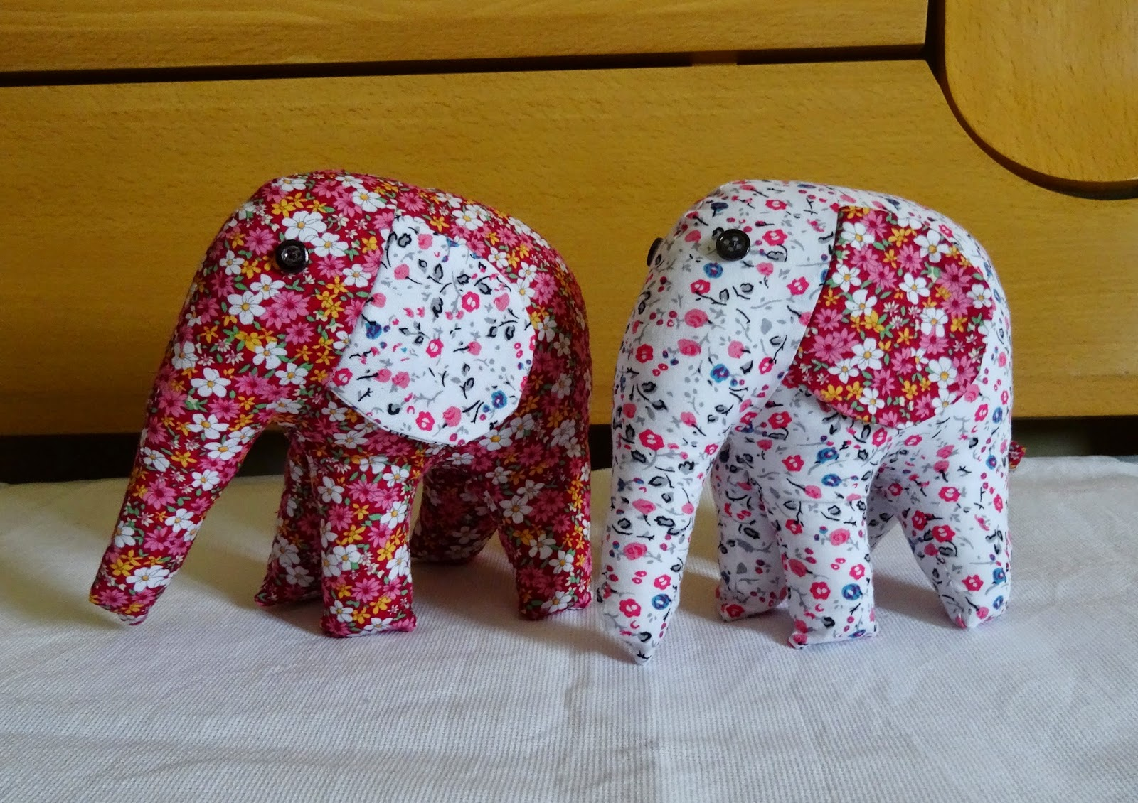 Stuffed elephant toys