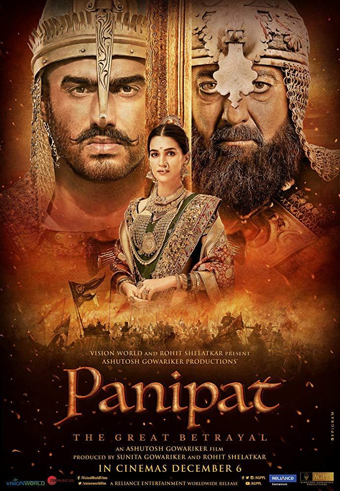 Panipat 2019 Hindi Movie 720p HDRip 1.1GB ESubs
