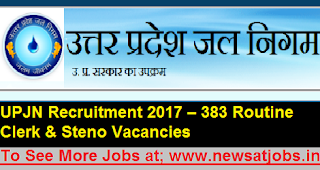 UPJN-383-steno-Clerk-Recruitmen