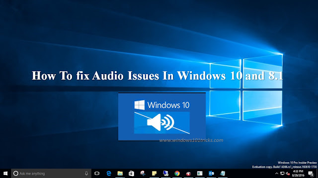 How to Fix Windows 10 No Sound Issue