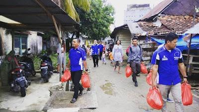 Yamaha Berbagi Bantu Korban Musibah Banjir Muntok