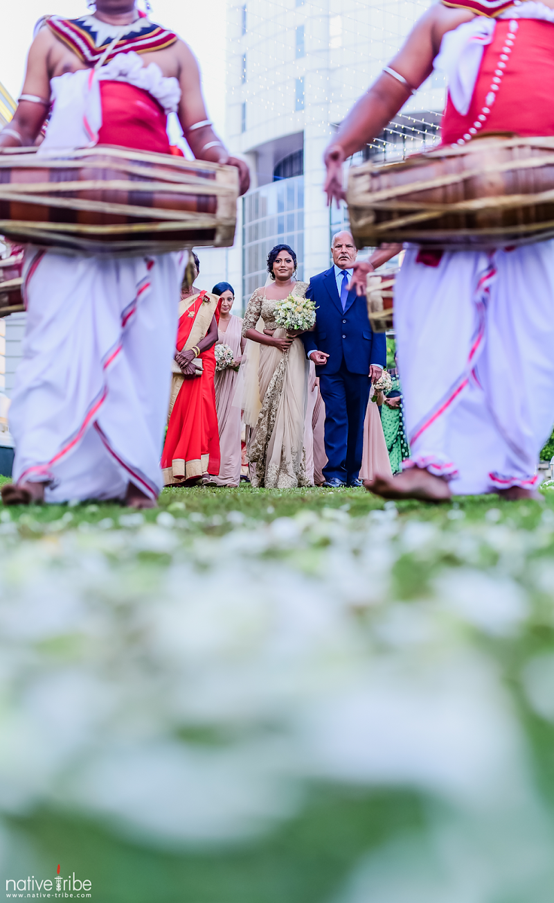 Wedding of Nirasha & Chama at Kingsburry Colombo