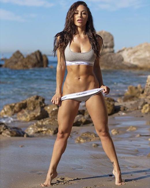 Fitness Model Ana Cheri photoshoot