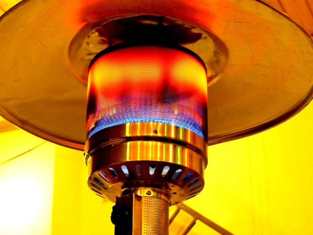 Gas Heizstrahler Test