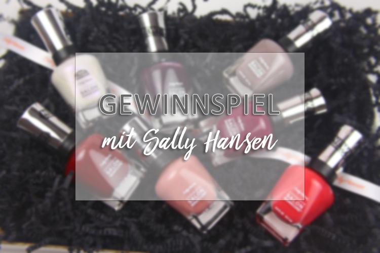 Neue Nagellacke von Sally Hansen + Gewinnspiel