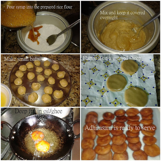 images of Adhirasam Recipe Using Ready Made Rice Flour / Adhirasam Recipe / Arisalu Recipe/ Ariselu Recipe