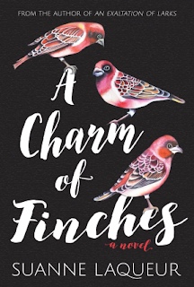 Cover Reveal: A Charm of Finches by Suanne Laqueur + Giveaway (US)