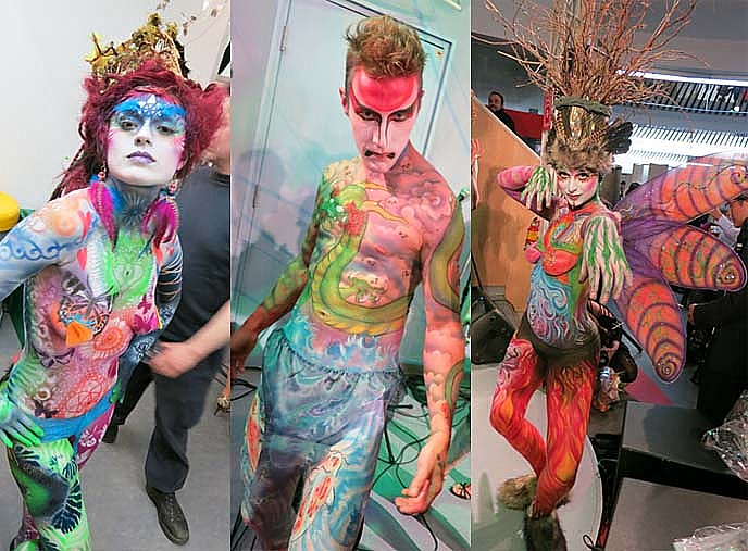 Art Now And Then Body Art
