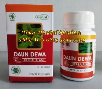 Jual Kapsul Daun Dewa Herbal Indo Utama di Madiun