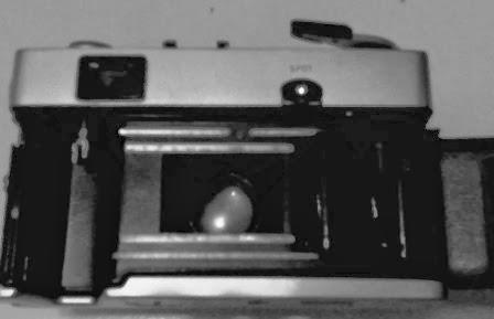 bagian dalam rangefinder Olympus 35 SP
