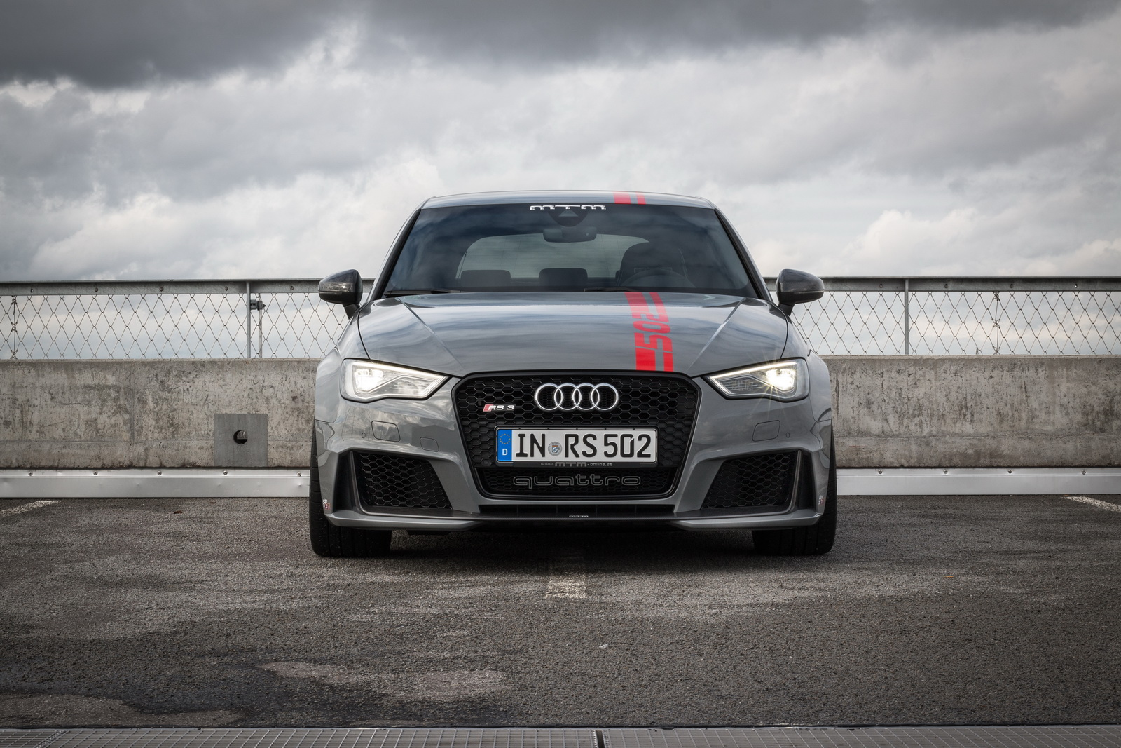 Audi Rs3 Dialed Up To 502hp By Mtm Because Power Is Never