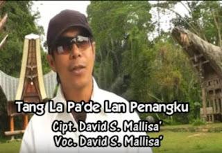 Lirik Lagu Toraja Tang La Pa'de Lan Penangku (David S. Mallisa')