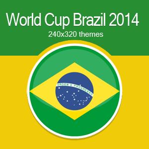 World cup Brazil theme Nokia X2-00 240x320 s406th
