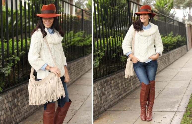 2212f34ecb347 Cositas de mujeres  Ideas de cómo llevar un sombrero
