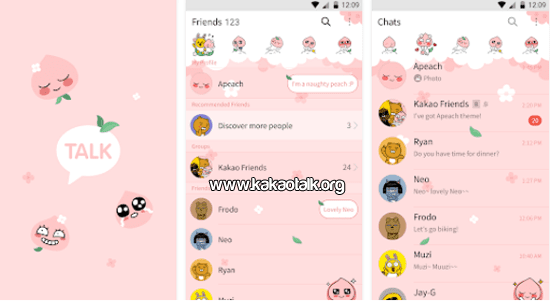 Apeach KakaoTalk Theme