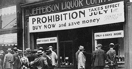 American History 101: Prohibition and the 18th Amendment