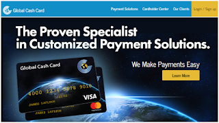 Globalcashcard.com/activate: Global Cash Card Account Services