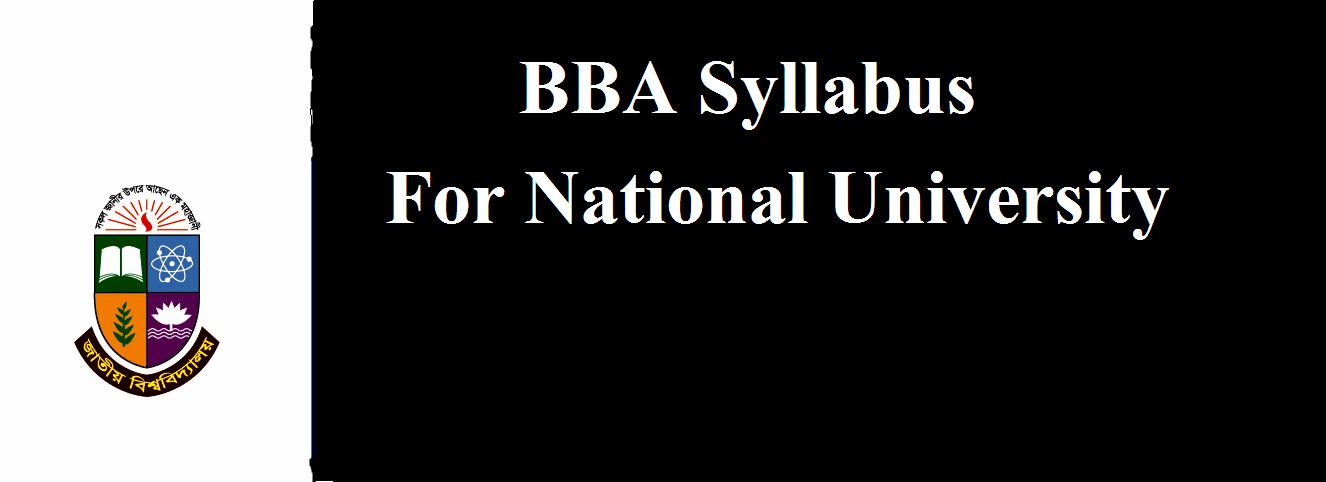National University- Professional : Professional BBA