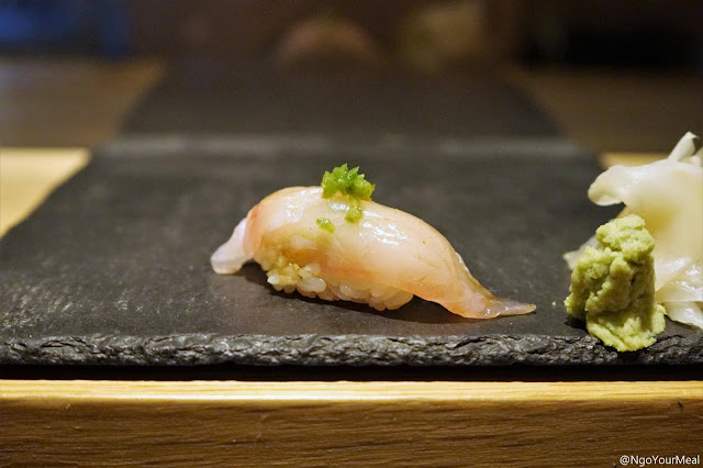 Yellowtail Sushi at DOMODOMO in New York City