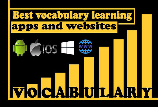 Applications and websites that can help you improve your vocabulary