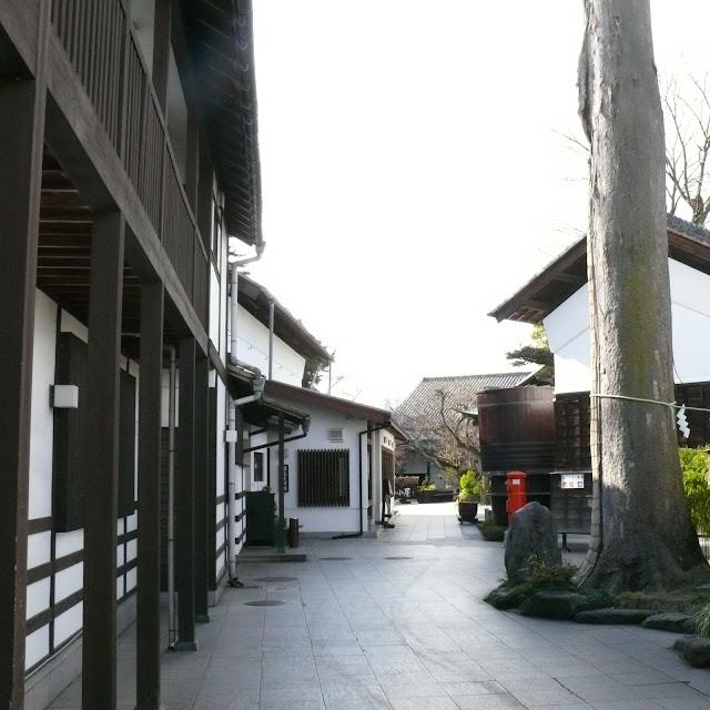 多摩川サイクリングロード 石川酒造