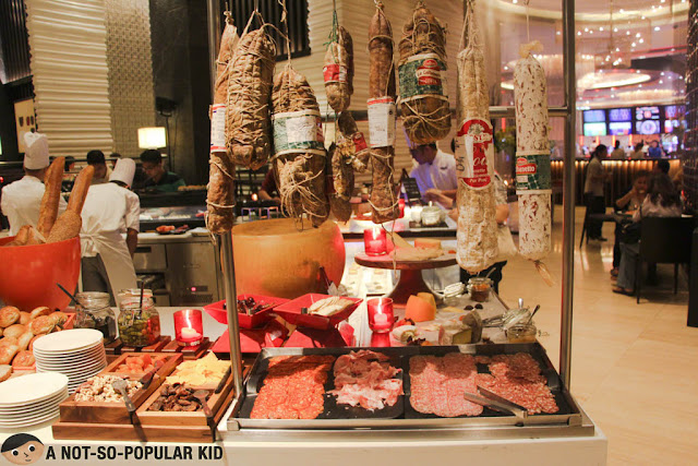 Charcuterie section of The Cafe of Hyatt