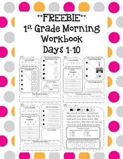 https://www.teacherspayteachers.com/Product/1st-Grade-Morning-Workbook-Freebie-2552622