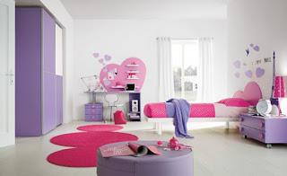 dormitorio para niña romántica