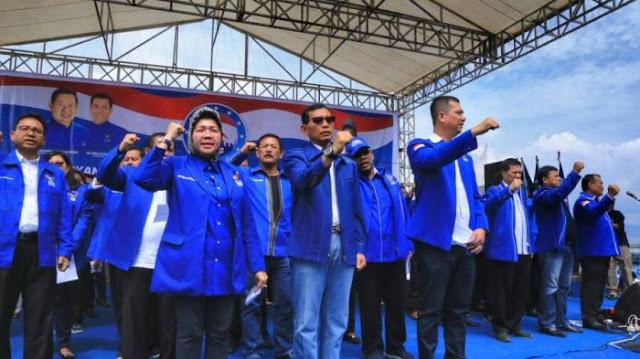 JR Saragih Pimpin DPD Demokrat Sumut : Jabatan Ketua Demokrat Binjai Seperti Telur Diujung Tanduk