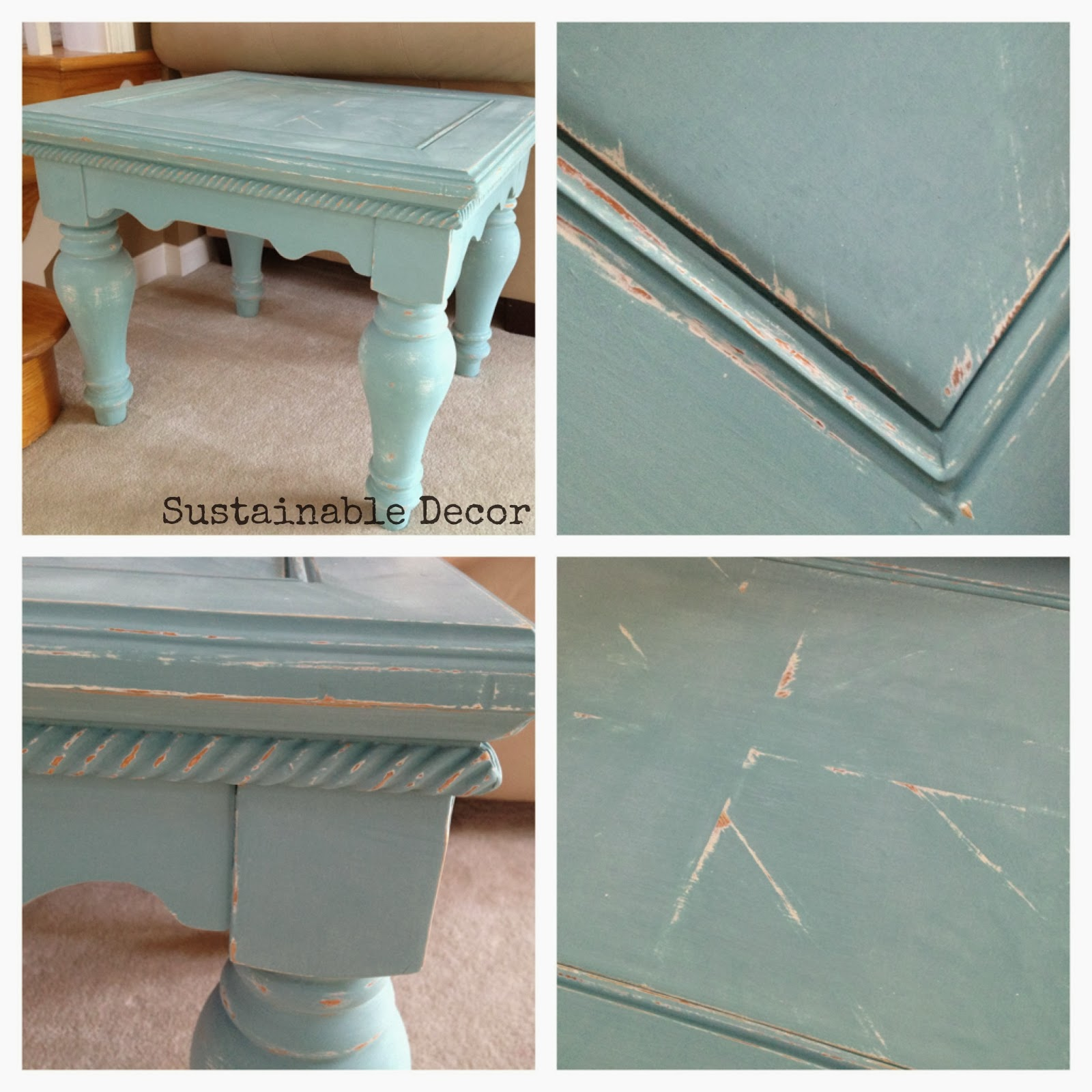 Well-known Sustainable Decor: Distressed Painted Furniture Redo: Yard Sale  SH15