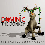Lou Monte - Dominick the Italian Christmas Donkey - Single Cover