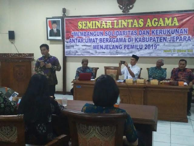 FKUB Jepara Gelar Seminar Lintas Agama, Bahas Pemilu