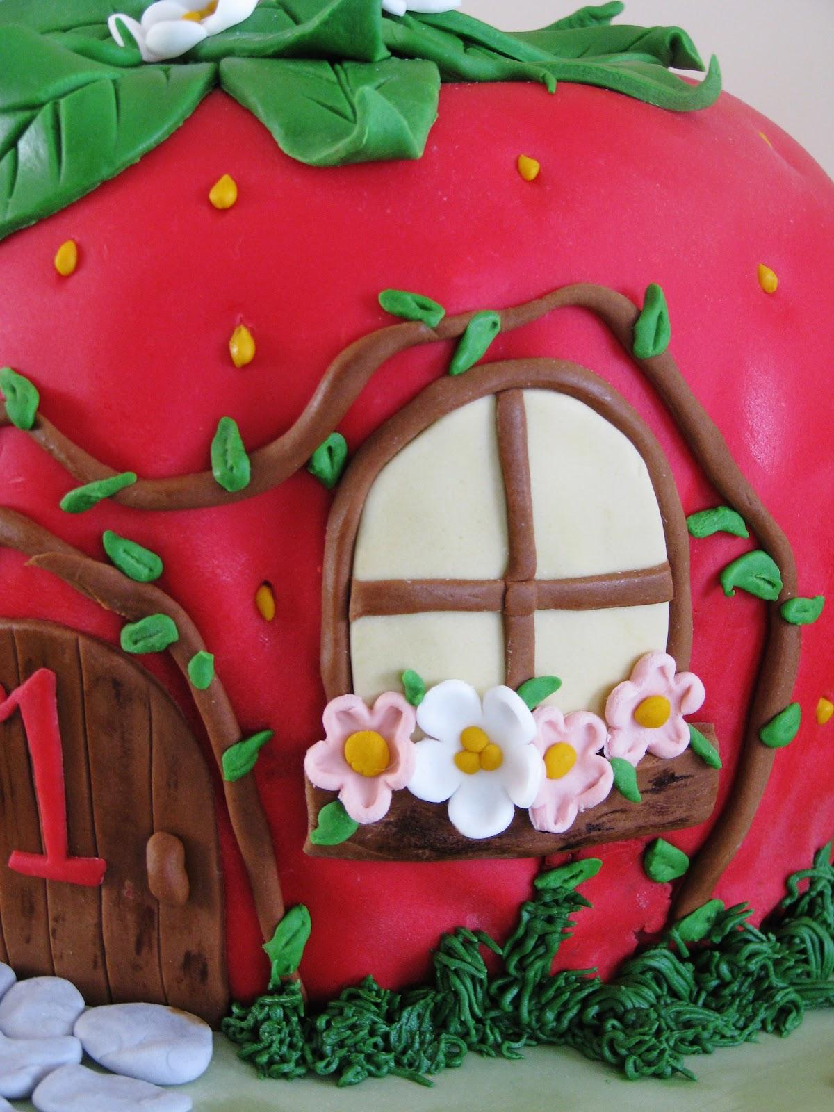 Bliss Cakes Of London Strawberry Shortcake House