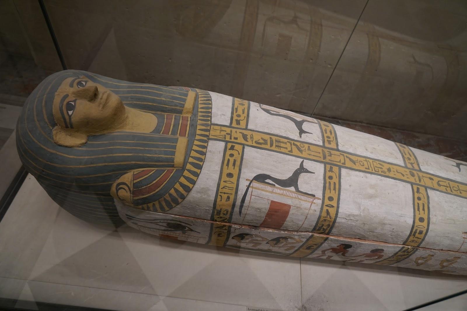 Le cercueil de la dame Madja