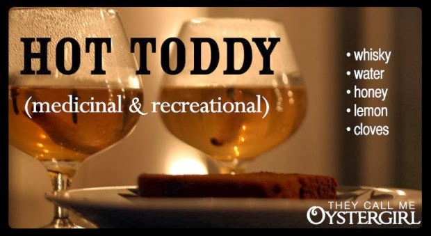 Fall Drink Recipes: Hot Toddy by They Call Me Oystergirl