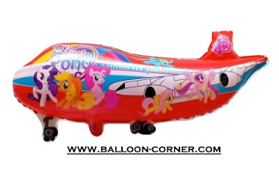 Balon Foil Karakter Pesawat Motif MY LITTLE PONY